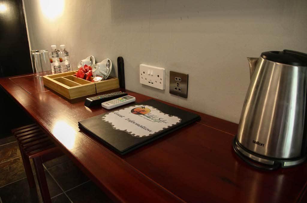 Heritage room coffee and tea station